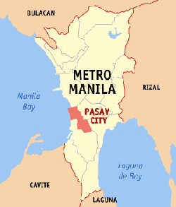 Pasay City is where bay garden club and residences is located